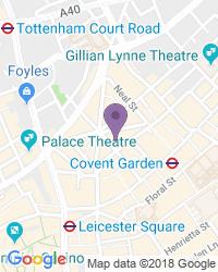 Cambridge Theatre - Adres van het theater