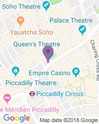 Queen's Theatre - Adres van het theater