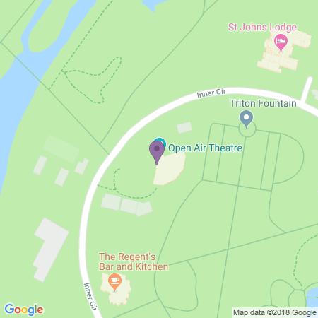 Locatie van Open Air