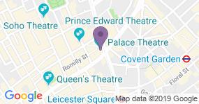 Palace Theatre - Adres van het theater