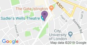 Sadlers Wells - Adres van het theater