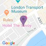 Savoy Theatre - Adres van het theater