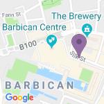 Barbican Theatre - Adres van het theater