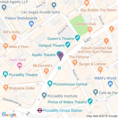 Locatie van Apollo Theatre