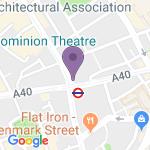 Dominion Theatre - Adres van het theater