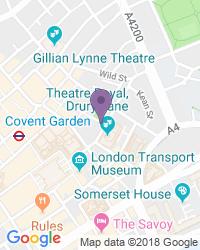 Fortune Theatre - Adres van het theater