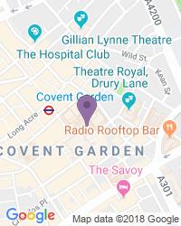 Royal Opera House - Adres van het theater